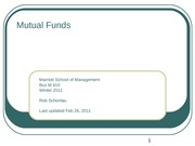 12-Mutual Funds