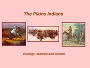 Gender and Plains Indian Warfare