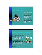 study tips fex C2