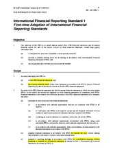 HL ifrs1 first-time adaptation of international financial reporting standards
