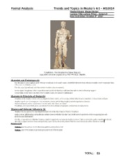 greek art analyses Art: content and analysis measures whether entry-level art teachers have the standards-relevant knowledge, skills, and abilities deemed necessary for beginning professional practice the test is intended primarily for.