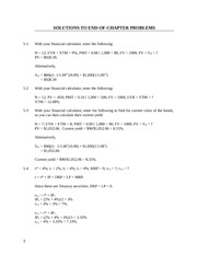 Chapter 5- Solutions to End-of-Chapter Problems (1)