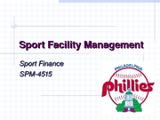 Facility Investments [STUDENT]
