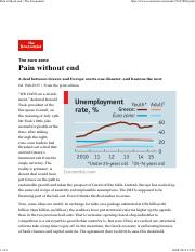 9 Pain without end _ The Economist