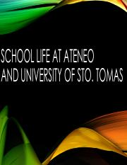 3 - School life at Ateneo and University of Sto. Tomas.pdf