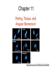 11 - Chapter 11 (including Cross Product from Chapter 3) - Rolling, Torque, and Angular Momentum.pdf