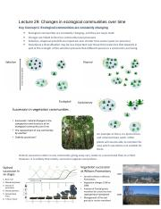 Lecture 29 - Changes in ecological communities over time.docx