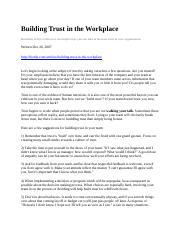 Building Trust in the Workplace.docx