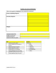 NURSING 360 Clinical Paperwork