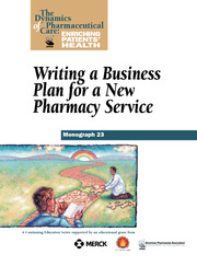 Pharmacy Business Plan Instructions