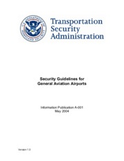 SECURITY GUIDLINES FOR GA AIRPORTS