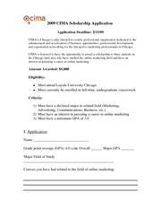 2009_CIMA_Loyola_Scholarship_Application