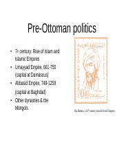 PreOttomanFoundations
