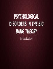 Psychological Disorders in The Big bang Theory.pptx