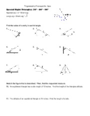 special_right_triangles_worksheet