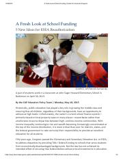 A Fresh Look at School Funding _ Center for American Progress(DB).pdf