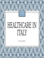Healthcare in Italy.pptx