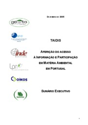First Portuguese Assessment Report (Portuguese)[1]