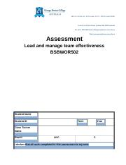 WORDAssessment-BSBWOR502-Lead-and-manage-team-effectiveness-090118.docx