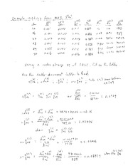 Math 172C Spring 2015 - Class 8 Solutions