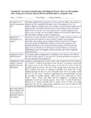 READ683 Assessment Administration and Diagnosis Project Template-Basic Sight Words