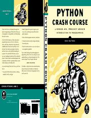 Eric Matthes - Python Crash Course. A Hands-On, Project-Based Introduction to Programming - 2015