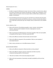 Test 1 review questions (1)
