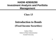 Advanced_Investments_Class_13_IntroToBonds