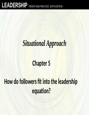 Chapter 5 Situational
