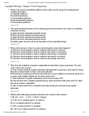 Print Campbell Biology_ Chapter 9 Test Preparation flashcards _ Easy Notecards