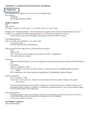 Chapter 33 Worksheet- Nonmalignant Hematologic Disorders .docx