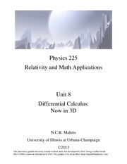 8-Discussion-Differential Calculus in 3D