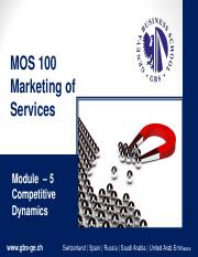 MOS Module 5 Competitive Dynamics new