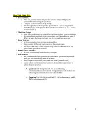 Practice Exam Tips (Including Calculation Answers).pdf