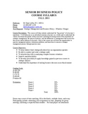 BAD 480 Syllabus - Fall 11