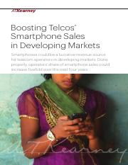 Boosting Telecom Smartphone Sales in Developing Markets