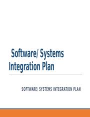 IT440_Wk14_SoftwareSystemsIntegrationPlan.pptx