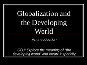 2  Introduction to GlobalizationBB