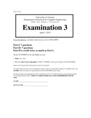exam 3 solutions