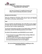 1. Umeclidinium task sheet + answer Spare