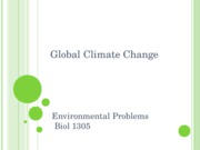 18- Global Climate Change