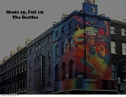 Beatles Week 8 Master Slides