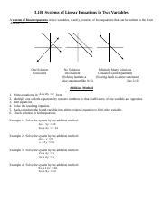 18.)  3.1B Systems of Linear Equations in Two Variables.doc