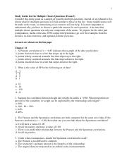 SYA4400 Study Guide for the Multiple Choice Questions Exam3