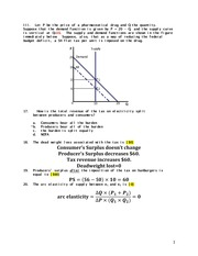 Practice Problem Set 1 Answers (2nd Half)