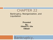 Bankruptcy - Final