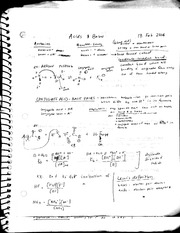 Acid and bases notes