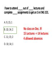 Lecture 7 - ICT Talk-ENG 101 Class