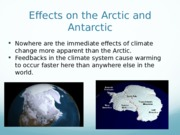 12 - Effects on Arctic and Antarctic