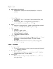 psyc 321 exam 2 notes On studocu you find all the study guides, past exams and lecture notes for this  course  psyc 321 perspectives of personality - notes for final exam.